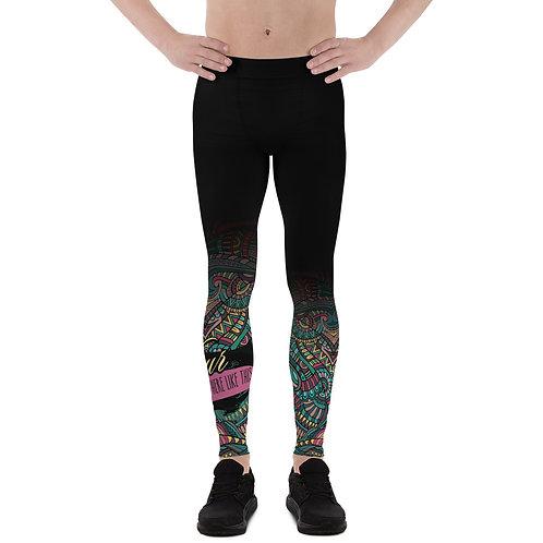 Men's Leggings Custom All-Over Dark