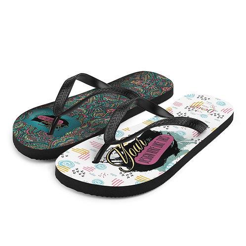 Flip-Flops Custom All-Over