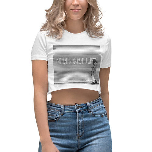 Women's Crop Top-Never Give Up