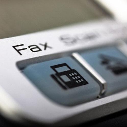 Fax Receiving