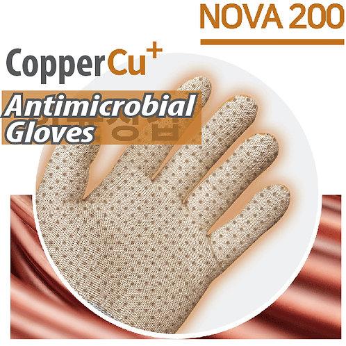 Copper Cu+ Antibacterial & Antimicrobial Gloves