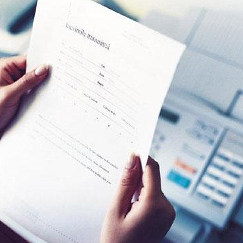 Fax Receiving Service