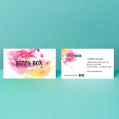 Business Card by Paper Types