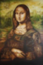 Monalisa painting masterpices