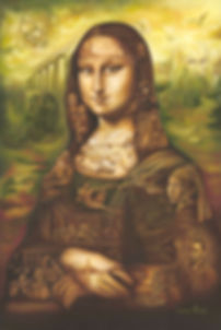 Mona Lisa painting, master pieces