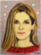 Sandra Bullock made of &,00 pieces of candies