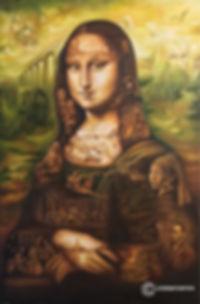 Monalisa painting