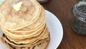 Pancakes moelleuses 100% végétales