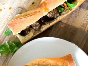 Banh-mi - sandwich vietnamien vegan