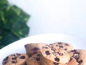 Muffin aux myrtilles - Vegan