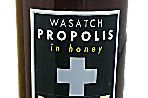 Wasatch Propolis in Honey
