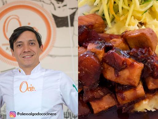Cerdo al wok por Alex Salgado