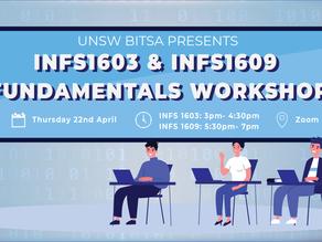 BITSA Presents: INFS1603 and INFS1609 Fundamentals Workshop