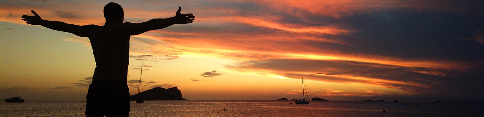 sunset bliss ibiza yoga and hiking retreat
