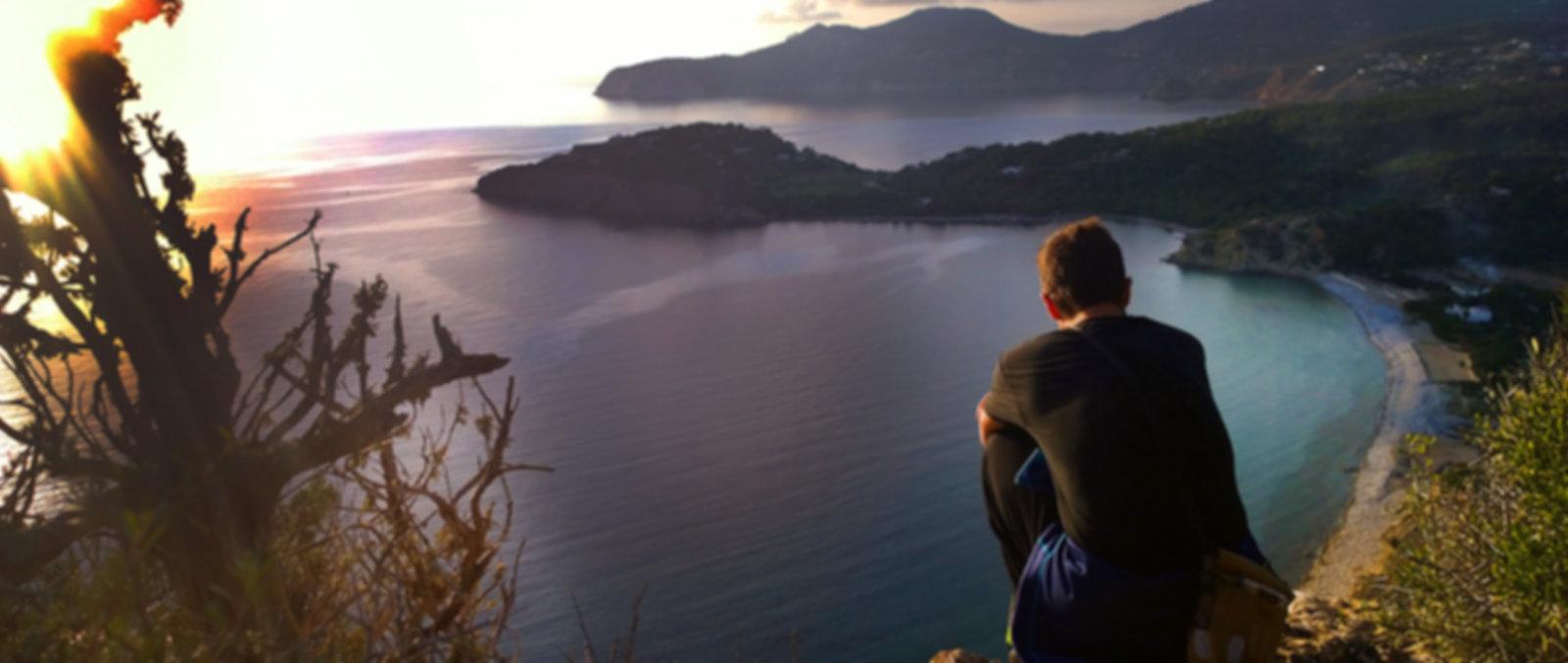 Hiking on Ibiza,the art of attentive walking