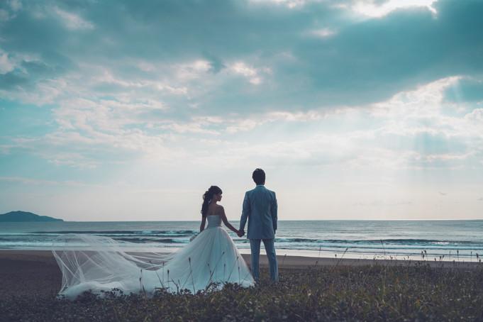 高知前撮り ドレス 入野海岸