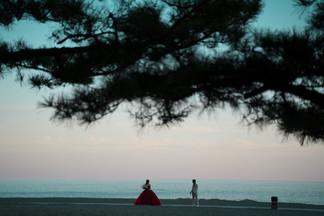 高知前撮り ドレス 桂浜