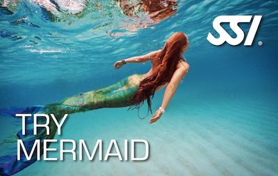 SSI Try Mermaid nage de sirène morbihan