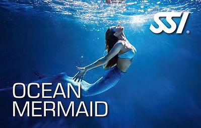 SSI Ocean Mermaid nage de sirène bretagne swim with me