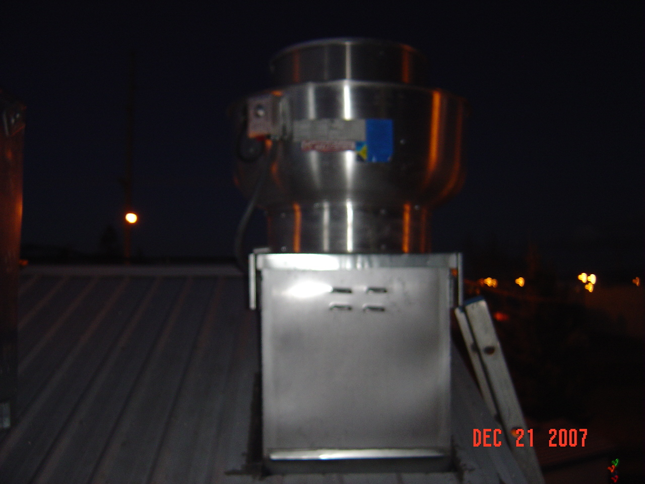 Kitchen Hood Exhaust Fans