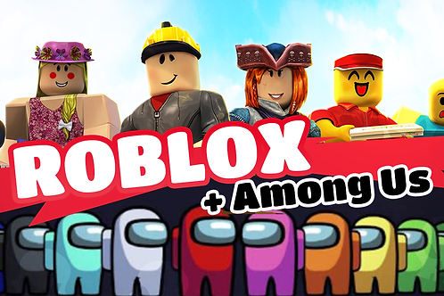 Roblox Coding x Among Us Game Design 8:30am - 12pm 1st - 4th June