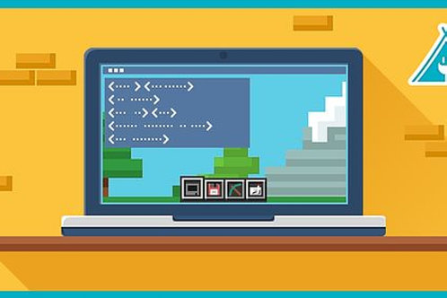 Minecraft Coding - W/C 20th July Virtual Coding 1 pm - 4 pm