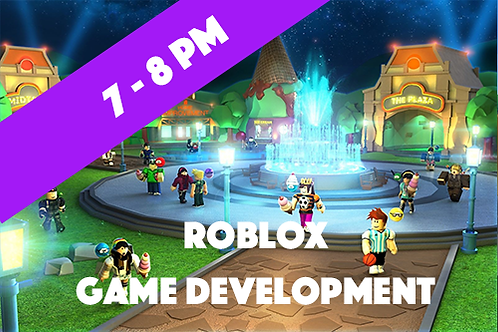Intermediate Roblox Game Development - Thursdays (Jan - April 2021 | 7 pm