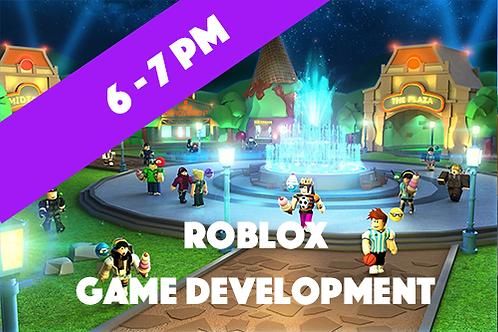 Level 2 Roblox Game Development - Tuesdays (April - July 2021 | 6pm - 7p