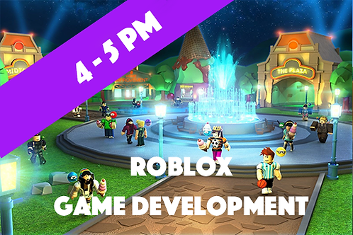 Intermediate Roblox Game Development - Thursdays (Jan - April 2021 | 4pm - 5