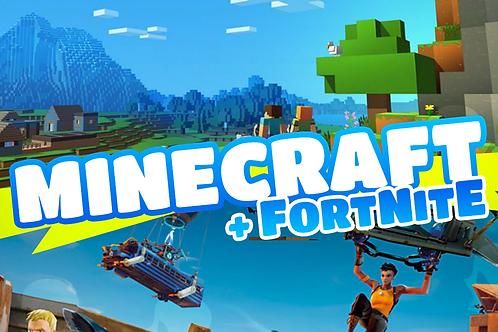 Minecraft Coding x Fortnite Game Design 8.30 am - 12 pm 1st - 4th June