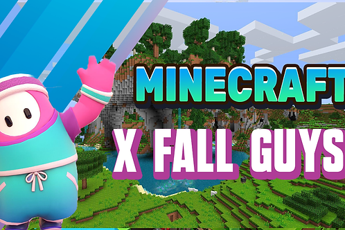 Minecraft x Fall Guys Easter Virtual Camp  9 am - 12 pm 29th March - 1st April