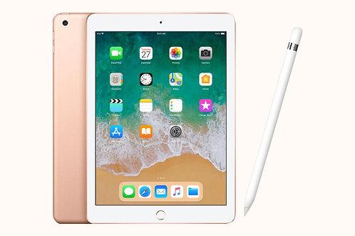 Apple iPad and Pencil