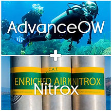 PADI Advance Open Water and Nitrox Enriched Air