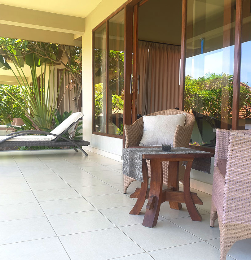 Deluxe Villa Balcony