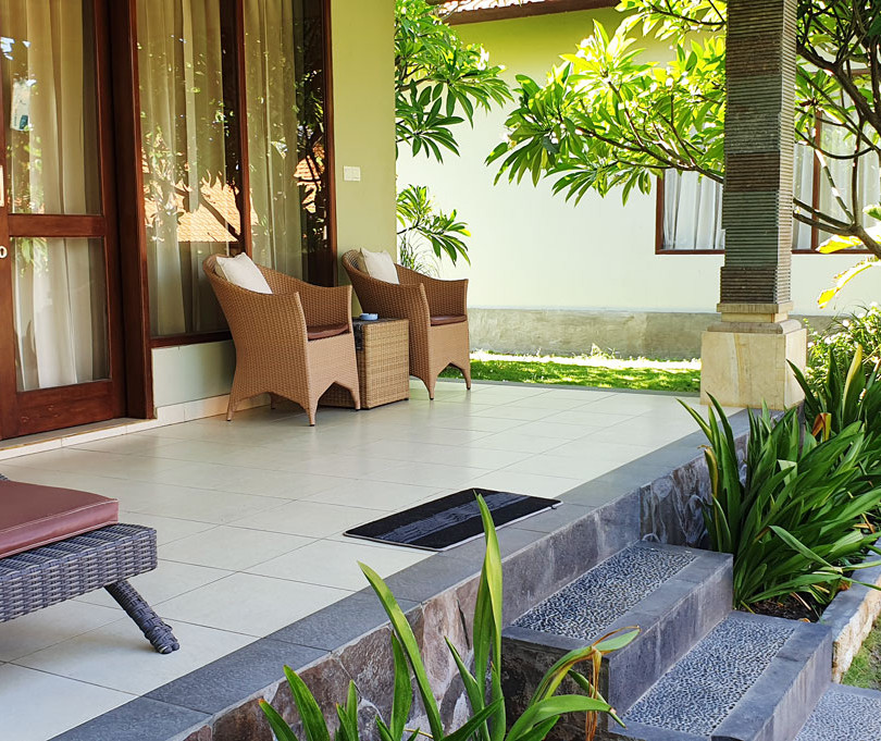Deluxe Villa Private Balcony