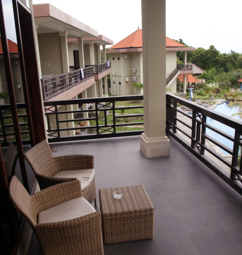 Standard Garden View Second Floor Balcony