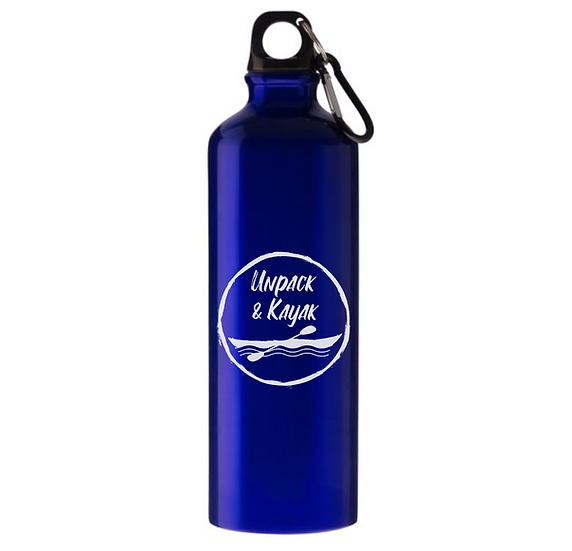Kayak Water Bottle With Carabiner Hook (770ML)