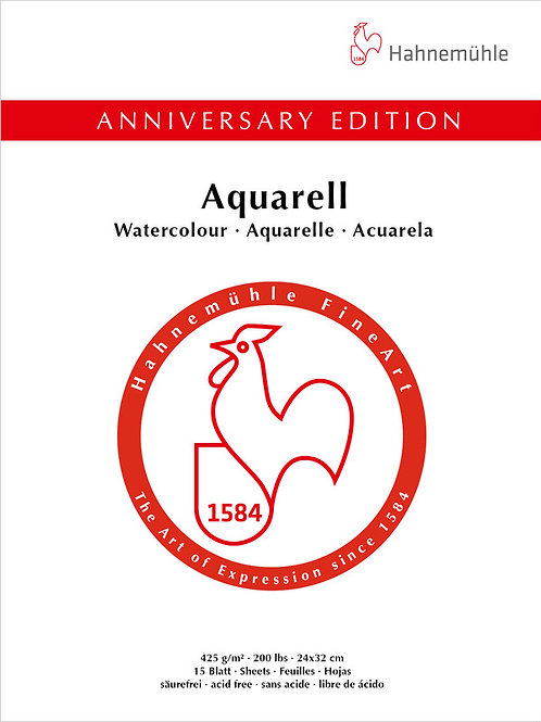 Hahnemühle Aniversary Edition Aquarell