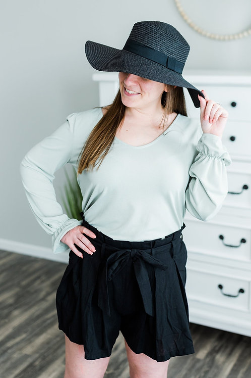 The Sage Blouse