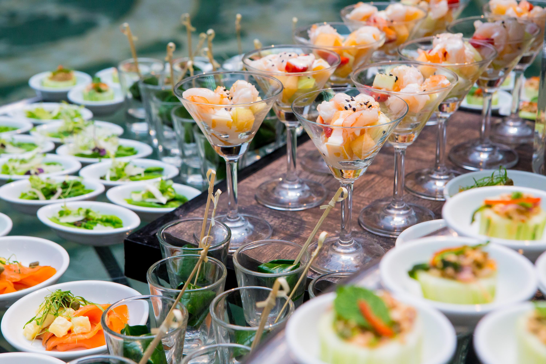 buffet food appetizers - Seasons