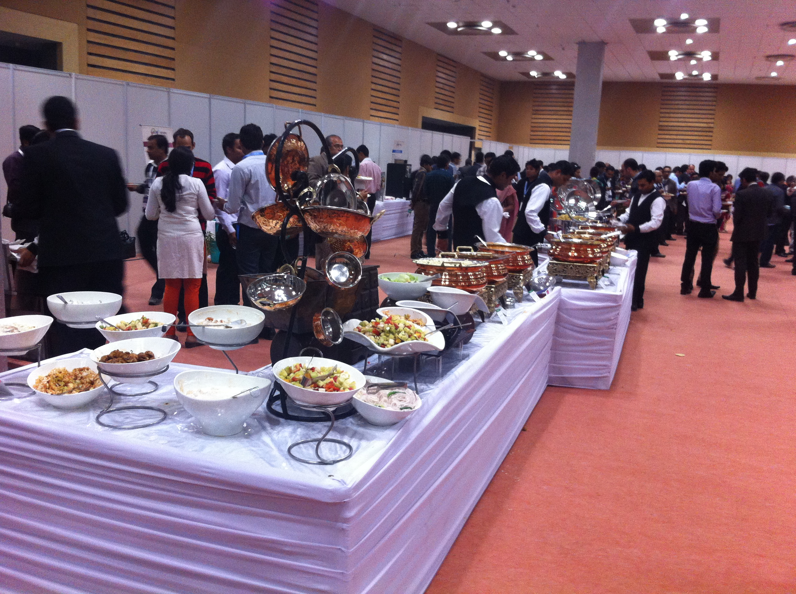 CII Knowledge Expo-Seasons Catering