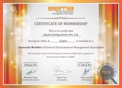 Seasons Catering- EEMA membership