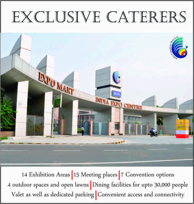 Exclusive Caterers at IEML