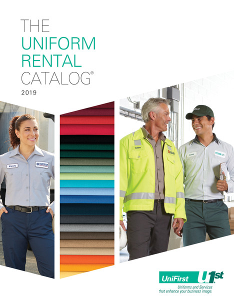 UniFirst Rental Catalog Cover