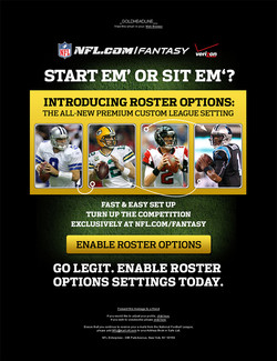 NFL Fantasy Draft Email