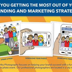 Custom Illustrated Direct Marketing Mailer
