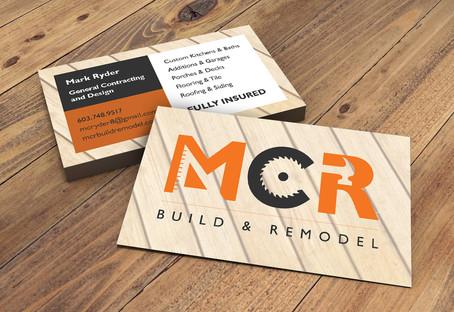 MCR Build & Remodel Business Card