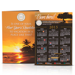 President's Club Motivational Calendar Mailer