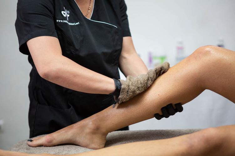 Preparazione della pelle al trattamento