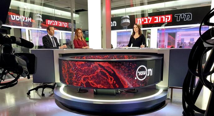 אולפן חדשות ערוץ 10